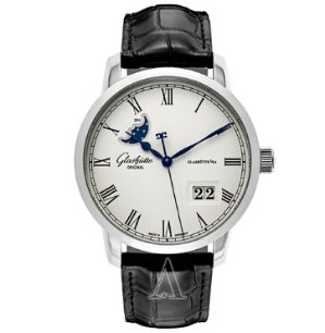 Dealmoon Exclusive! $5,888(reg. $11,500.00) Glashutte Men's Senator Panorama Date Moonphase Watch