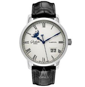 Dealmoon Exclusive! $5,888(reg. $11,500.00)Glashutte Men's Senator Panorama Date Moonphase Watch