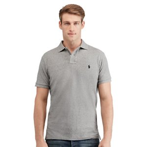 Custom-Fit Mesh Polo Shirt - Custom Fit � Polo Shirts - RalphLauren.com
