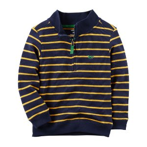 Baby Boy Half-Zip Sweater | Carters.com