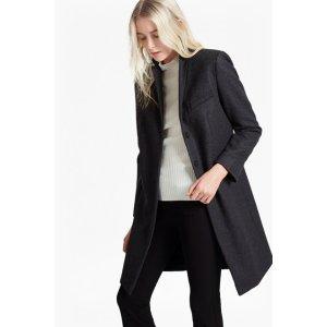 Platform Felt Wool Coat   Sale   French Connection Usa