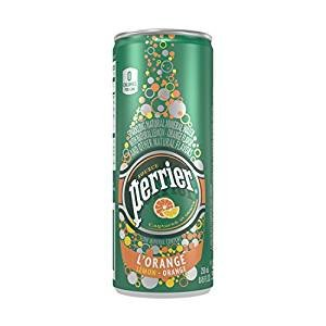 $11.66 Perrier Sparkling Natural Mineral Water, Lemon Orange, 8.45 Ounce (Pack of 30)