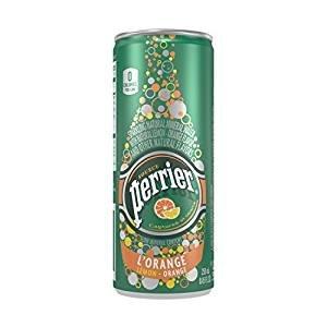 $11.66 Perrier Sparkling Natural Mineral Water, Lemon Orange, 8.45 Ounce (Pack of 30)