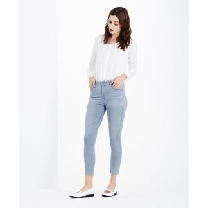 THE FARRAH SKINNY CROP in AZURE SKIES SKINNY JEANS| AG Jeans Official Store