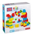 5.90 Mega Bloks First Builders Lots of Blocks 40 piece
