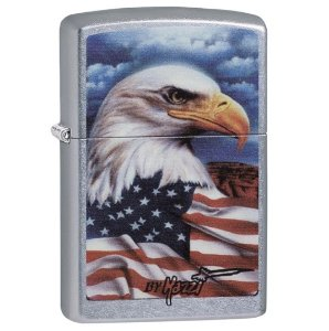From $14.47 Zippo Eagle Lighters