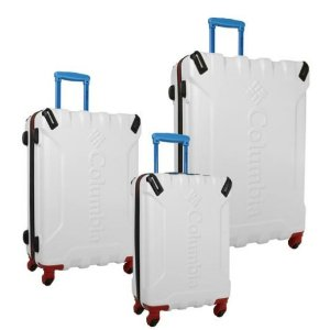 Columbia Airspace 3 Piece Hardside Spinner Luggage Set