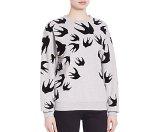 McQ Alexander McQueen Swallow Printed Sweatshirt