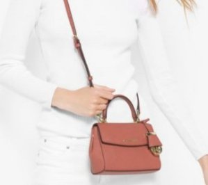 $93.45(Org. $178) MICHAEL MICHAEL KORS Ava Extra-Small Saffiano Leather Crossbody @ Michael Kors