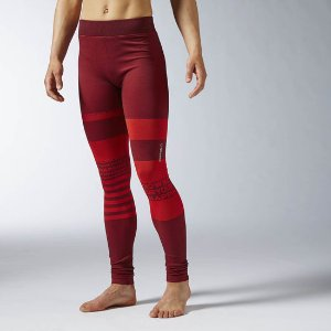 Reebok Yoga Seamless Tight - Red