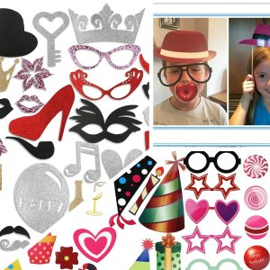 Make Everyday Full of Fun! PBPBOX Photo Booth Props