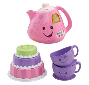 Prime Member Only! Fisher-Price Laugh & Learn Smart Stages Tea Set