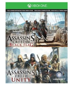 Free! Assassin's Creed IV Black Flag & Assassin's Creed Unity - Xbox One