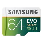 Samsung EVO Select Micro SDXC Memory Card, 64GB, 80MB/s (MB-ME32DA/AM)