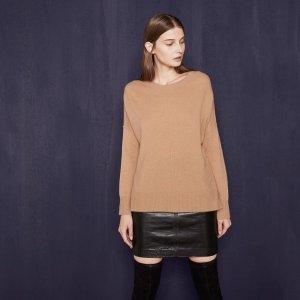 MAGNIFIQU Loose cashmere jumper - Sweaters - Maje.com