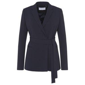 'Jabilta'   Crepe Tie Waist Jacket