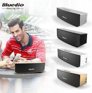 史低价!Bluedio BS-3 3D环绕声便携式蓝牙音箱