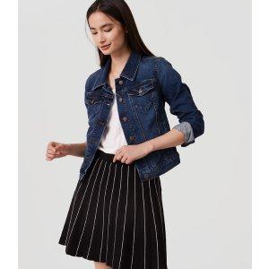 Striped Sweater Skirt | LOFT