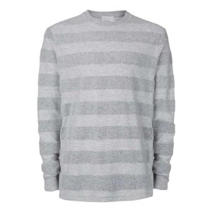 LTD Grey Towelling Crew Neck Sweatshirt - Men's Hoodies & Sweatshirts - Clothing - TOPMAN USA