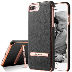 iPhone 7/ 7 Plus PU leather Stand Case
