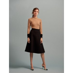Color-Block Extra-Fine Merino Wool Sweater - Sale