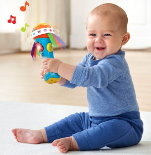 $12.99 VTech Baby Babble and Rattle Microphone