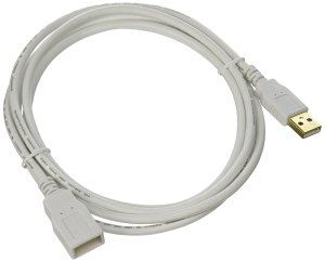 Prime members: Monoprice 6-Feet USB 2.0 A Male to A Female Extension 28/24AWG Cable (Gold Plated)
