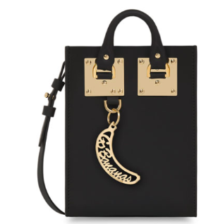 Sophie Hulme  Nano Leather Crossbody Tote Bag @ Bergdorf Goodman
