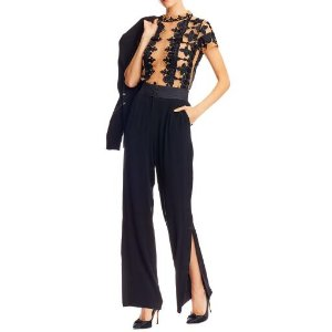 Nicole Miller Slit Trousers