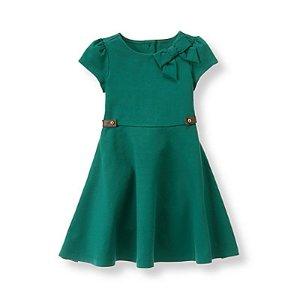 Baby Girl Juniper Ponte Dress at JanieandJack