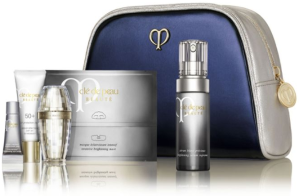 $180 + 27 Pc. Gift Clé de Peau Beauté Brilliant Skin & Sun Set @ Saks Fifth Avenue