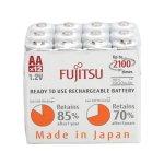 24-Pack Fujitsu AA 2000mAh Ni-MH Rechargeable Batteries