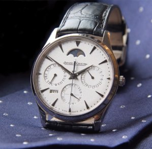 $13445Jaeger LeCoultre Master Ultra Thin Perpetual Men's Watch