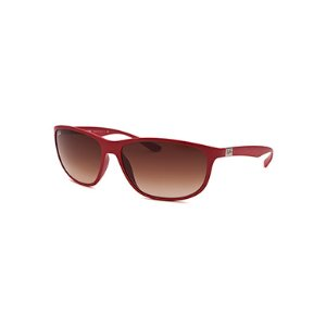Ray-Ban Oval Red Sunglasses