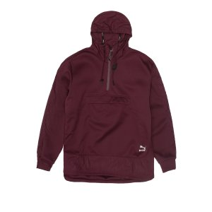 PUMA EVO EMBOSSED SAVANNAH PO HOOD - Burgundy | Jimmy Jazz - 571630-05