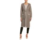 Rue La La — Max Mara Wool & Angora-Blend Coat