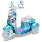 $69 Disney Frozen 3-Wheel Scooter 6-Volt Battery-Powered Ride-On