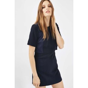 A-Line Overlay Dress - Dresses - Clothing - Topshop USA