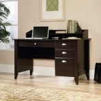 $98 Sauder Shoal Creek Desk, Jamocha Wood