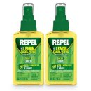 $8.49 REPEL HG-24109 Lemon Eucalyptus Natural Insect Repellent with 4 oz Pump Spray, Twin Pack