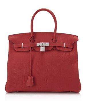 Hermès Taurillon Clemence Birkin 35