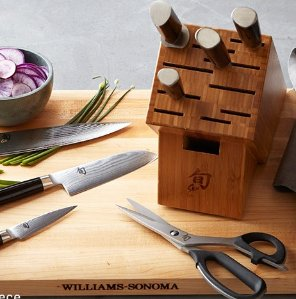 Up to 50% Off + Free Gift Card $499+ Shun Cutlery One-day Sale @ Williams Sonoma