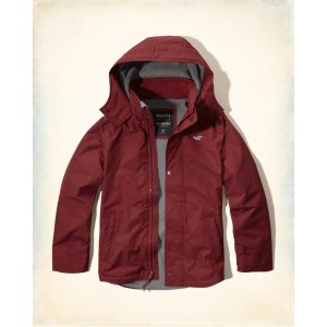 Guys Hollister All-Weather Fleece Lined Jacket | Guys Clearance | HollisterCo.com