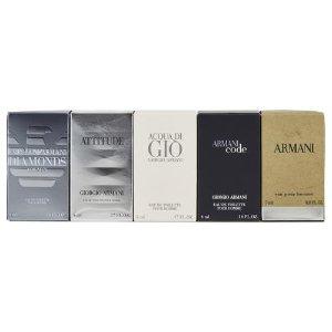 Giorgio Armani Variety by Giorgio Armani for Men Mini Gift Set, 5 pc - Walmart.com