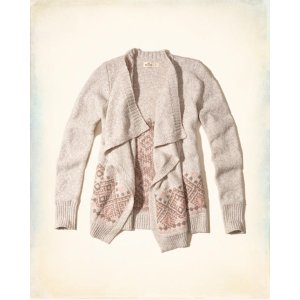 Girls Patterned Blanket Cardigan | Girls Clearance | HollisterCo.com