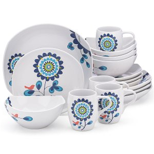 Classic Fjord Tweet 16-pc Set | Dinnerware Sets