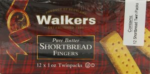 Walkers Shortbread Fingers, (12 x 1 oz Twinpacks), Pack of 2