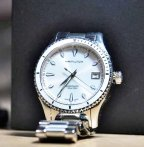 $399 Hamilton Women's Jazzmaster Seaview Watch