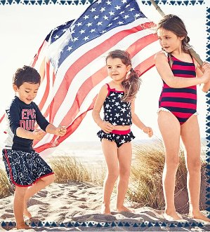 Up to 60% Off + Free Shipping Swimwear Sale @ Oshkosh