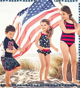 Up to 60% Off + Free Shipping Swimwear Sale @ Oshkosh